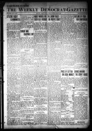 The Weekly Democrat-Gazette (McKinney, Tex.), Vol. 30, No. 38, Ed. 1 Thursday, October 24, 1912