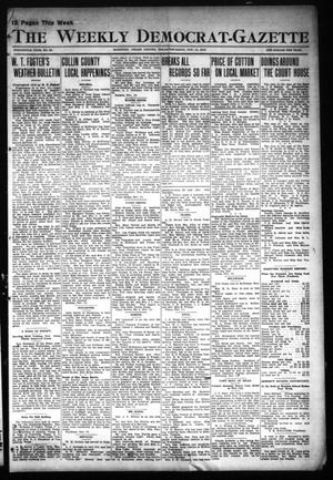 Primary view of object titled 'The Weekly Democrat-Gazette (McKinney, Tex.), Vol. 30, No. 41, Ed. 1 Thursday, November 14, 1912'.