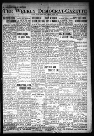 Primary view of object titled 'The Weekly Democrat-Gazette (McKinney, Tex.), Vol. 30, No. 42, Ed. 1 Thursday, November 21, 1912'.