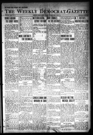 Primary view of object titled 'The Weekly Democrat-Gazette (McKinney, Tex.), Vol. 30, No. 44, Ed. 1 Thursday, December 5, 1912'.