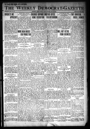 Primary view of object titled 'The Weekly Democrat-Gazette (McKinney, Tex.), Vol. 30, No. 45, Ed. 1 Thursday, December 12, 1912'.