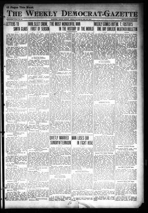 Primary view of object titled 'The Weekly Democrat-Gazette (McKinney, Tex.), Vol. 30, No. 47, Ed. 1 Thursday, December 26, 1912'.