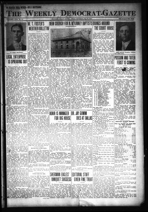 Primary view of object titled 'The Weekly Democrat-Gazette (McKinney, Tex.), Vol. 30, No. 51, Ed. 1 Thursday, January 23, 1913'.