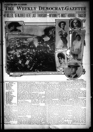 Primary view of object titled 'The Weekly Democrat-Gazette (McKinney, Tex.), Vol. 30, No. 52, Ed. 1 Thursday, January 30, 1913'.