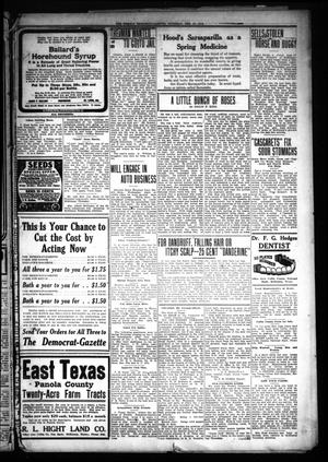 Primary view of object titled 'The Weekly Democrat-Gazette (McKinney, Tex.), Vol. 30, No. 4, Ed. 1 Thursday, February 27, 1913'.
