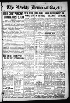 Primary view of object titled 'The Weekly Democrat-Gazette (McKinney, Tex.), Vol. 31, No. 16, Ed. 1 Thursday, May 21, 1914'.