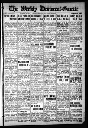 The Weekly Democrat-Gazette (McKinney, Tex.), Vol. 31, No. 17, Ed. 1 Thursday, May 28, 1914