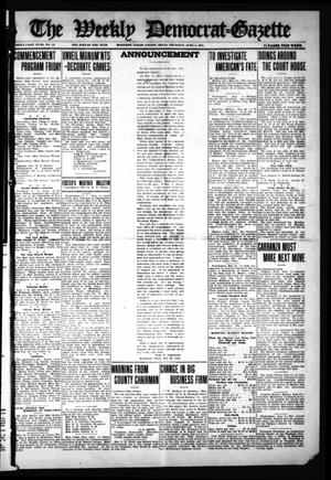 The Weekly Democrat-Gazette (McKinney, Tex.), Vol. 31, No. 18, Ed. 1 Thursday, June 4, 1914