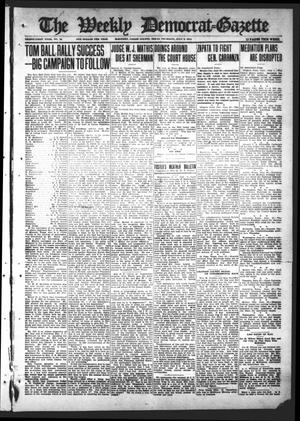 Primary view of object titled 'The Weekly Democrat-Gazette (McKinney, Tex.), Vol. 31, No. 22, Ed. 1 Thursday, July 2, 1914'.