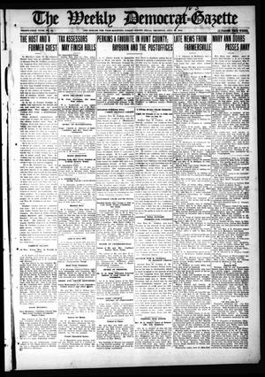 Primary view of object titled 'The Weekly Democrat-Gazette (McKinney, Tex.), Vol. 31, No. 25, Ed. 1 Thursday, July 23, 1914'.