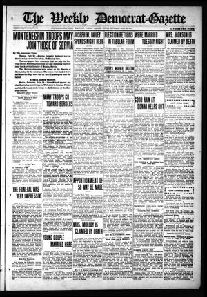 Primary view of object titled 'The Weekly Democrat-Gazette (McKinney, Tex.), Vol. 31, No. 25, Ed. 1 Thursday, July 30, 1914'.