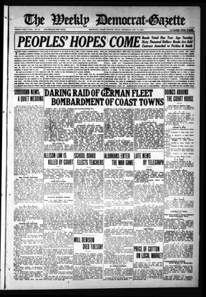 The Weekly Democrat-Gazette (McKinney, Tex.), Vol. 31, No. 45, Ed. 1 Thursday, December 17, 1914