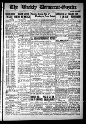 Primary view of object titled 'The Weekly Democrat-Gazette (McKinney, Tex.), Vol. 31, No. 47, Ed. 1 Thursday, December 31, 1914'.