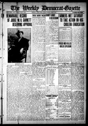 Primary view of object titled 'The Weekly Democrat-Gazette (McKinney, Tex.), Vol. 33, Ed. 1 Thursday, April 13, 1916'.