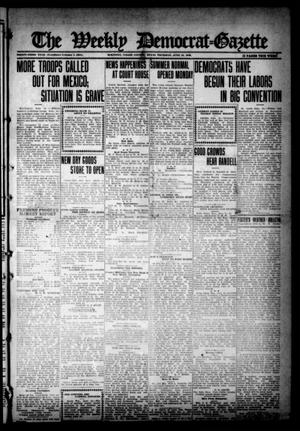 Primary view of object titled 'The Weekly Democrat-Gazette (McKinney, Tex.), Vol. 33, Ed. 1 Thursday, June 15, 1916'.