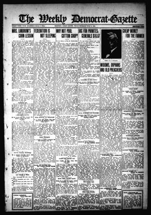 Primary view of object titled 'The Weekly Democrat-Gazette (McKinney, Tex.), Vol. 33, Ed. 1 Thursday, July 6, 1916'.