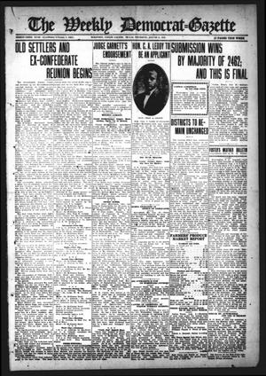 Primary view of object titled 'The Weekly Democrat-Gazette (McKinney, Tex.), Vol. 33, Ed. 1 Thursday, August 3, 1916'.