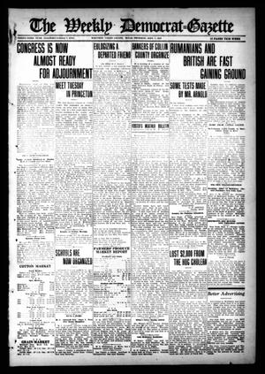 The Weekly Democrat-Gazette (McKinney, Tex.), Vol. 33, Ed. 1 Thursday, September 7, 1916
