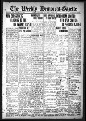 Primary view of object titled 'The Weekly Democrat-Gazette (McKinney, Tex.), Vol. 33, Ed. 1 Thursday, October 5, 1916'.