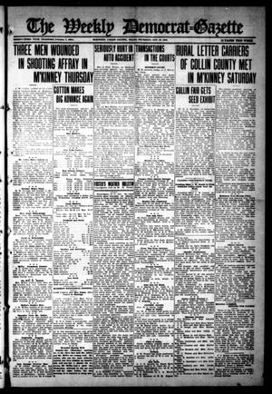 Primary view of object titled 'The Weekly Democrat-Gazette (McKinney, Tex.), Vol. 33, Ed. 1 Thursday, October 19, 1916'.