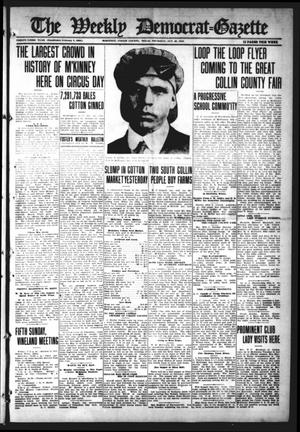 Primary view of object titled 'The Weekly Democrat-Gazette (McKinney, Tex.), Vol. 33, Ed. 1 Thursday, October 26, 1916'.