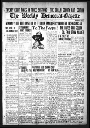 Primary view of object titled 'The Weekly Democrat-Gazette (McKinney, Tex.), Vol. 33, Ed. 1 Thursday, November 2, 1916'.
