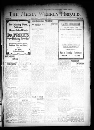 Primary view of object titled 'The Mexia Weekly Herald. (Mexia, Tex.), Vol. 15, Ed. 1 Thursday, February 12, 1914'.