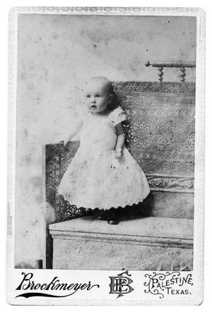 Primary view of object titled '[Unidentified Infant]'.