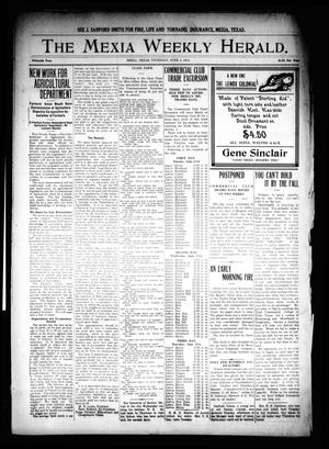Primary view of object titled 'The Mexia Weekly Herald. (Mexia, Tex.), Vol. 15, Ed. 1 Thursday, June 4, 1914'.