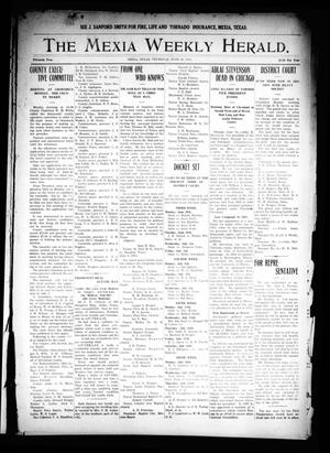 Primary view of object titled 'The Mexia Weekly Herald. (Mexia, Tex.), Vol. 15, Ed. 1 Thursday, June 18, 1914'.