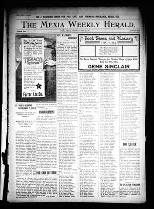 Primary view of object titled 'The Mexia Weekly Herald. (Mexia, Tex.), Vol. 15, Ed. 1 Thursday, June 25, 1914'.