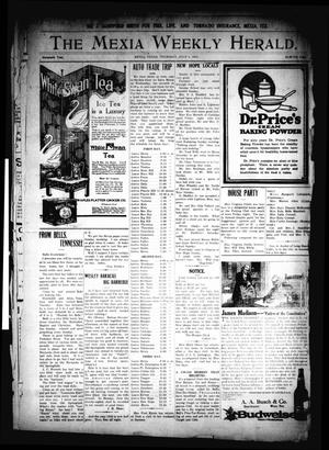 Primary view of object titled 'The Mexia Weekly Herald. (Mexia, Tex.), Vol. 16, Ed. 1 Thursday, July 1, 1915'.