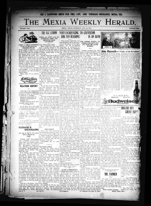 Primary view of object titled 'The Mexia Weekly Herald. (Mexia, Tex.), Vol. 16, Ed. 1 Thursday, August 19, 1915'.