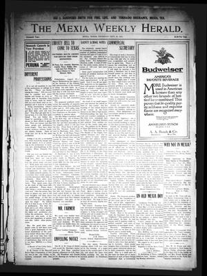 Primary view of object titled 'The Mexia Weekly Herald. (Mexia, Tex.), Vol. 16, Ed. 1 Thursday, September 16, 1915'.
