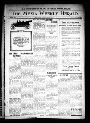 Primary view of object titled 'The Mexia Weekly Herald. (Mexia, Tex.), Vol. 16, Ed. 1 Thursday, October 28, 1915'.