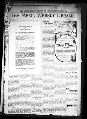 Primary view of object titled 'The Mexia Weekly Herald. (Mexia, Tex.), Vol. 16, Ed. 1 Thursday, December 16, 1915'.