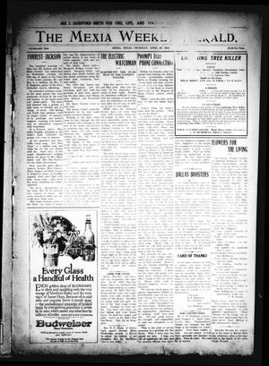 Primary view of object titled 'The Mexia Weekly Herald. (Mexia, Tex.), Vol. 17, Ed. 1 Thursday, April 27, 1916'.