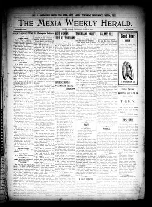 Primary view of object titled 'The Mexia Weekly Herald. (Mexia, Tex.), Vol. 17, Ed. 1 Thursday, June 22, 1916'.