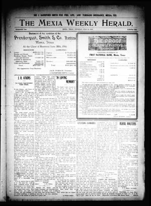 Primary view of object titled 'The Mexia Weekly Herald. (Mexia, Tex.), Vol. 17, Ed. 1 Thursday, July 13, 1916'.