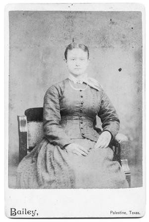 Primary view of object titled '[Unidentified Woman]'.