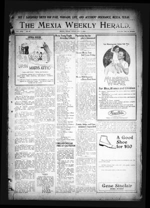 Primary view of object titled 'The Mexia Weekly Herald. (Mexia, Tex.), Vol. 22, No. 40, Ed. 1 Friday, October 1, 1920'.