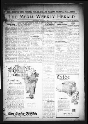 Primary view of object titled 'The Mexia Weekly Herald. (Mexia, Tex.), Vol. 22, No. 45, Ed. 1 Friday, November 5, 1920'.