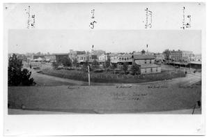 Primary view of object titled '[Fish Eye View of Palestine]'.