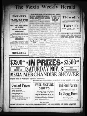 Primary view of object titled 'The Mexia Weekly Herald (Mexia, Tex.), Vol. 26, No. 45, Ed. 1 Thursday, October 23, 1924'.