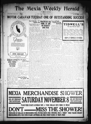 Primary view of object titled 'The Mexia Weekly Herald (Mexia, Tex.), Vol. 26, No. 46, Ed. 1 Thursday, October 30, 1924'.