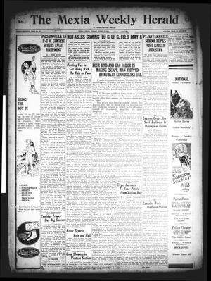 Primary view of object titled 'The Mexia Weekly Herald (Mexia, Tex.), Vol. 27, No. 13, Ed. 1 Friday, April 3, 1925'.