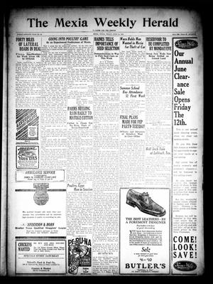 Primary view of object titled 'The Mexia Weekly Herald (Mexia, Tex.), Vol. 27, No. 22, Ed. 1 Friday, June 12, 1925'.