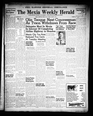Primary view of object titled 'The Mexia Weekly Herald (Mexia, Tex.), Vol. 68, No. 32, Ed. 1 Friday, August 9, 1946'.