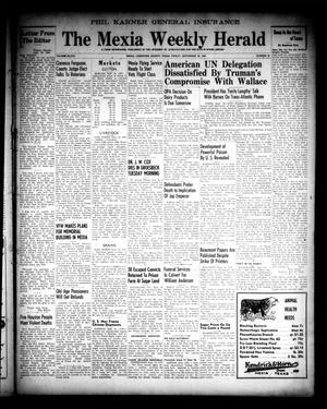 Primary view of object titled 'The Mexia Weekly Herald (Mexia, Tex.), Vol. 68, No. 38, Ed. 1 Friday, September 20, 1946'.