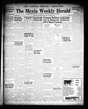 Primary view of object titled 'The Mexia Weekly Herald (Mexia, Tex.), Vol. 68, No. 39, Ed. 1 Friday, September 27, 1946'.